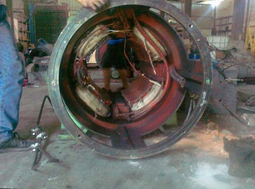 直流电机维修-直流电机修理定子,转子绕组各种故障检查修理