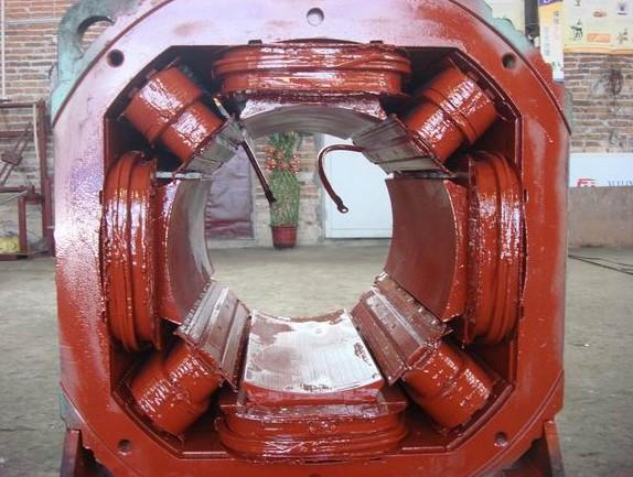 直流电机维修磁极绕组故障修复怎样确定方法和工艺?